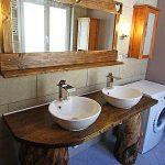 salle de baing gîte de la Lombarde