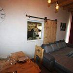 vue étable gîte du Charri Vosges